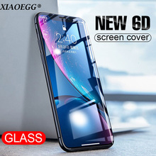 NEW 6D 9H Tempered Glass Screen Protector Guard For iPhone X XS 100%Tempered iphone 7 8plus