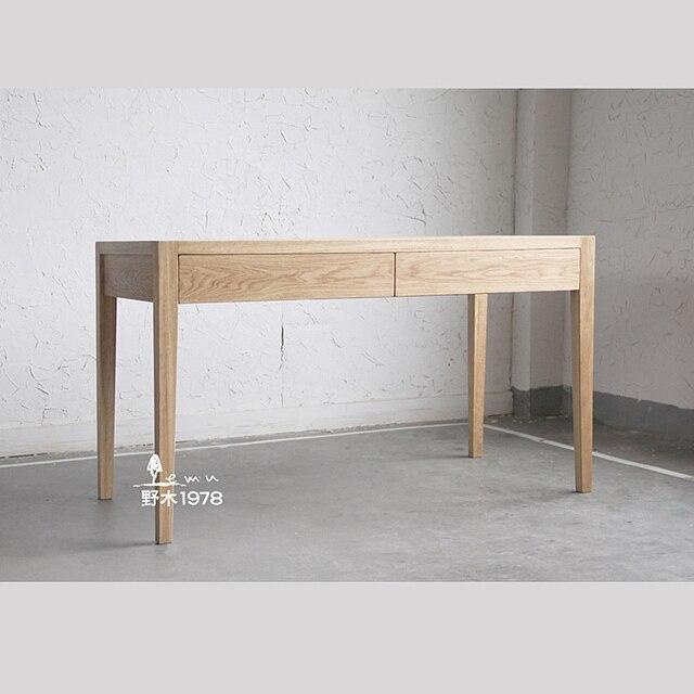 Modern Minimalist Desk nogi modern minimalist japanese oak timber wood desk computer desk