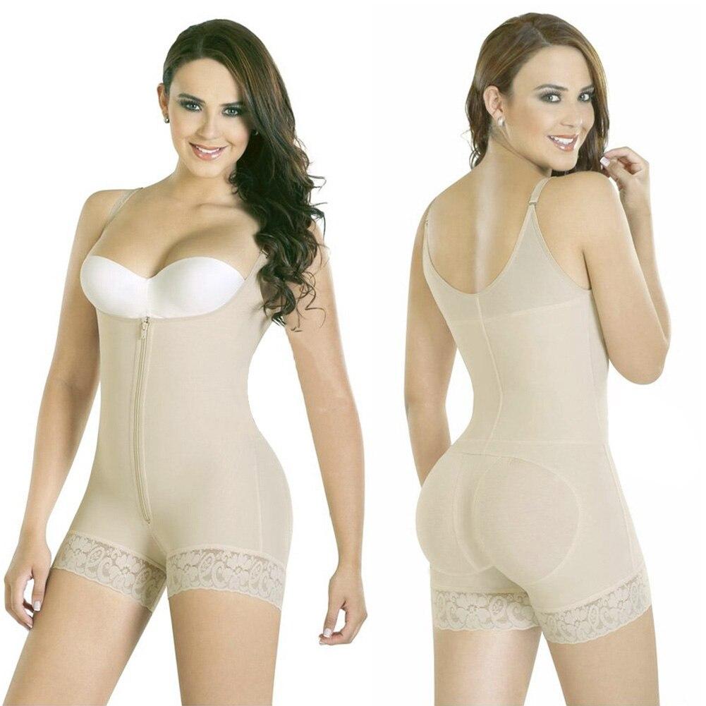 2019 Newly Hot Women Colombian Body Shaper Compression Shapewear Bodysuit Waist Shaper Butt Lifter MSK66
