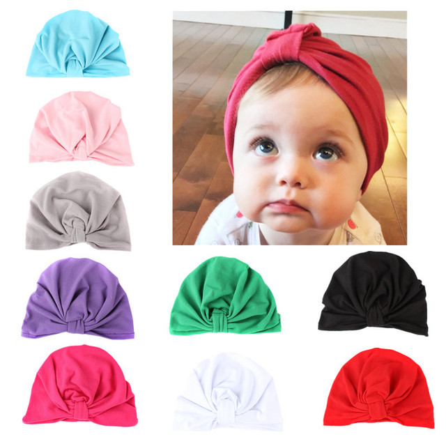 8dc0ecdd35a India Style Cotton Winter Hats for Kids Girls Boy Baby Cap for Children  Toddler Hat Props
