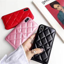 Luxury Leather Phone Case For iphone XS Max XR X Back Cover for iphone 8 Plus 6 6s Plus 7 Plus Case Wallet With Card Pocket newest luxury brand spain full grain leather case for iphone 6 7 phone back cover with card slots custom name