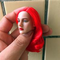 BELET BT015 1/6 Scale Beauty Headplay with Red Hair Female Head Sculpt