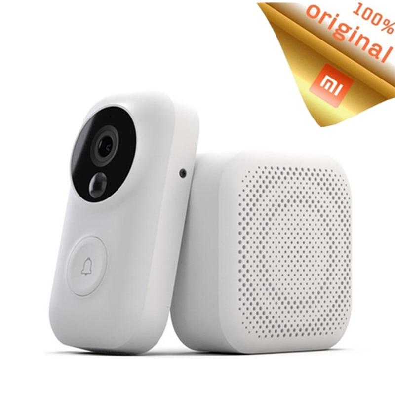 Xiaomi Zero AI Face Identification Doorbell Set IR Night Vision 720P Audio Video Detection SMS Push