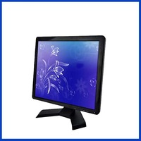 17 touch screen monitor 1280*1024 desktop touchscreen monitor 17 inch usb touch monitor with VGA/DVI/USB interface