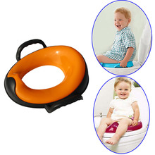 Baby Child Toilet Training Seat with Handles Kids Toilet Seats Pedestal Pan YH-17