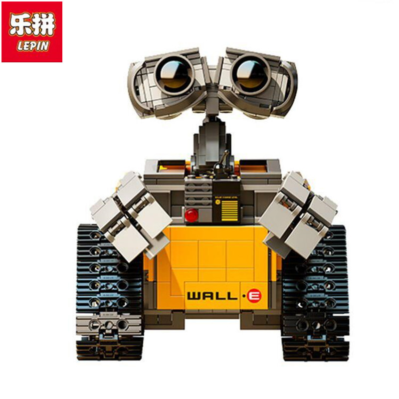 Lepin 16003 Idea Robot WALL E Building Blocks Bricks Blocks Toys for Children WALL-E Birthday Gifts new lepin 16003 idea robot wall e 21303 building kits bricks blocks bringuedos the fire 70615 03073 toys for children military