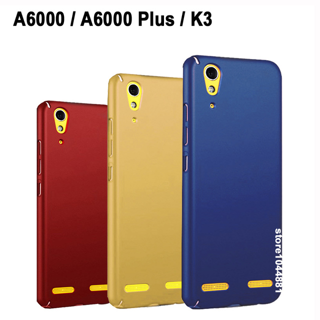 pretty nice 3be60 05250 US $1.37 31% OFF|Full Protective Case For Lenovo A 6000 Case Cover Frosted  PC Cover For Lenovo A6000 Plus Case Fashion Hard Pc Lenovo K3 Case-in ...