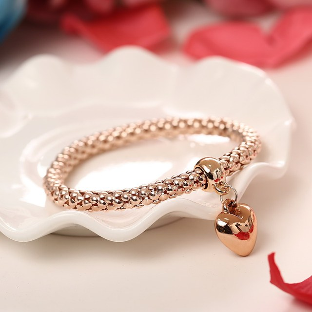 3 Pcs/Set Crystal Owl Heart Charm Bracelets & Bangles Gold/Silver Plated Elephant Anchor Pendants Rhinestone Bracelets For Women