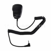 Clip giratorio para micrófono y altavoz Yaesu, 3,5mm, Conector de Audio MH34B4B para Yaesu VX 3R FT 60R FT1DR FT2DR, micrófono PTT de hombro