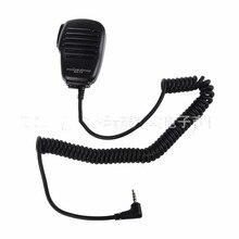 Dla Yaesu mikrofon z głośnikiem obrotowy klip 3.5mm słuchawka gniazdo audio MH34B4B dla Yaesu VX 3R FT 60R FT1DR FT2DR ramię PTT Mic