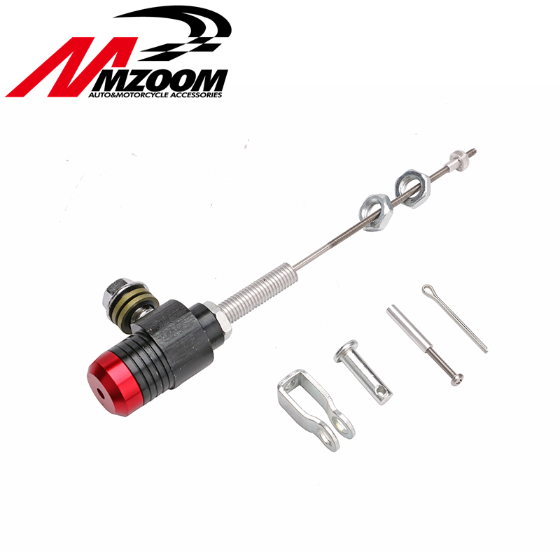 FREE SHIPING Mzoom hydraulic Clutch Master Slave Cylinder Rod System performance efficient transfer pump for dirt bike pit bike motorcycle performance hydraulic brake clutch master cylinder rod system performance efficient transfer pump free shipping
