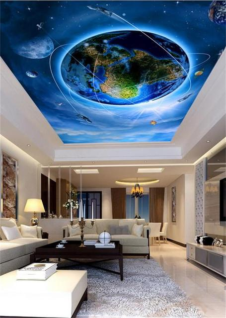 48D Wallpaper Ceilingcustom Photo Wall PaperOnly Beautiful Earth Beauteous 3D Design Bedroom