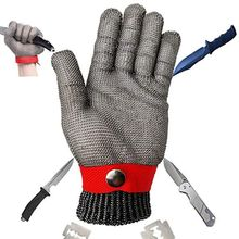 Car repair tools safety anti-cutting stab-resistant stainless steel metal mesh gloves high performance level 5 protection 10166