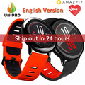 [Versão em inglês] xiaomi huami amazfit ritmo esportes smart watch bluetooth 4.0 wifi dual core 1.2 ghz 512 mb + 4 gb gps freqüência cardíaca