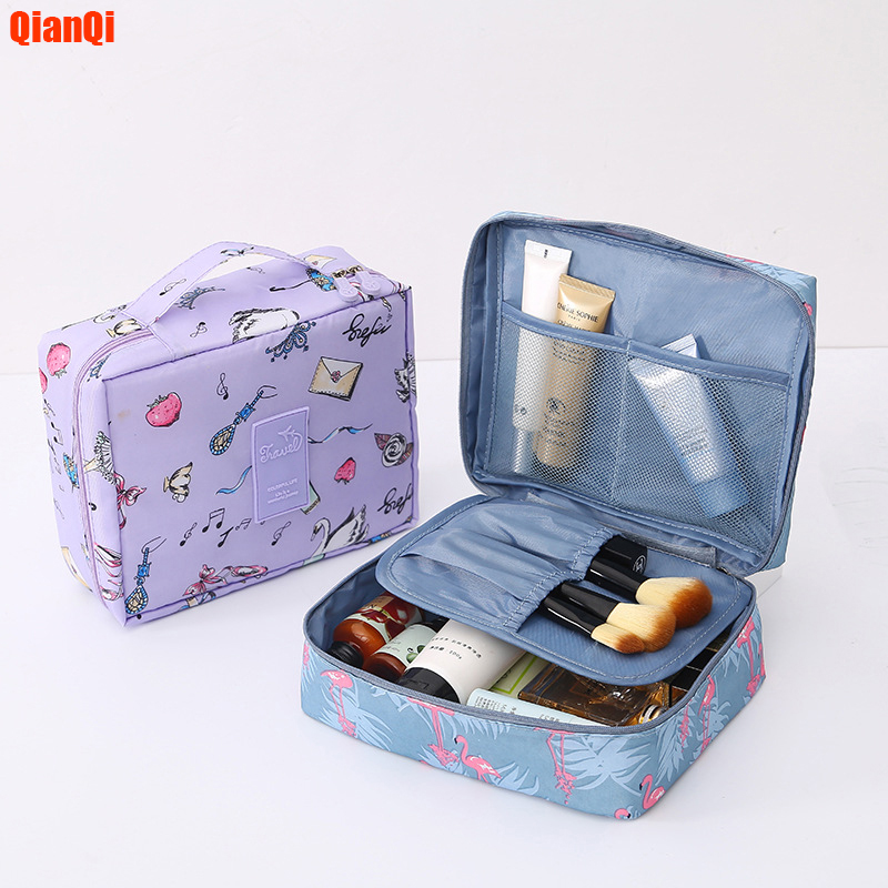 Men And Women Multi-function Travel Cosmetic Bag Nescerer Cosmetic Bag Care Storage Bag Waterproof Female Storage Cosmetic Case