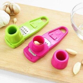 Garlic grinder-presser