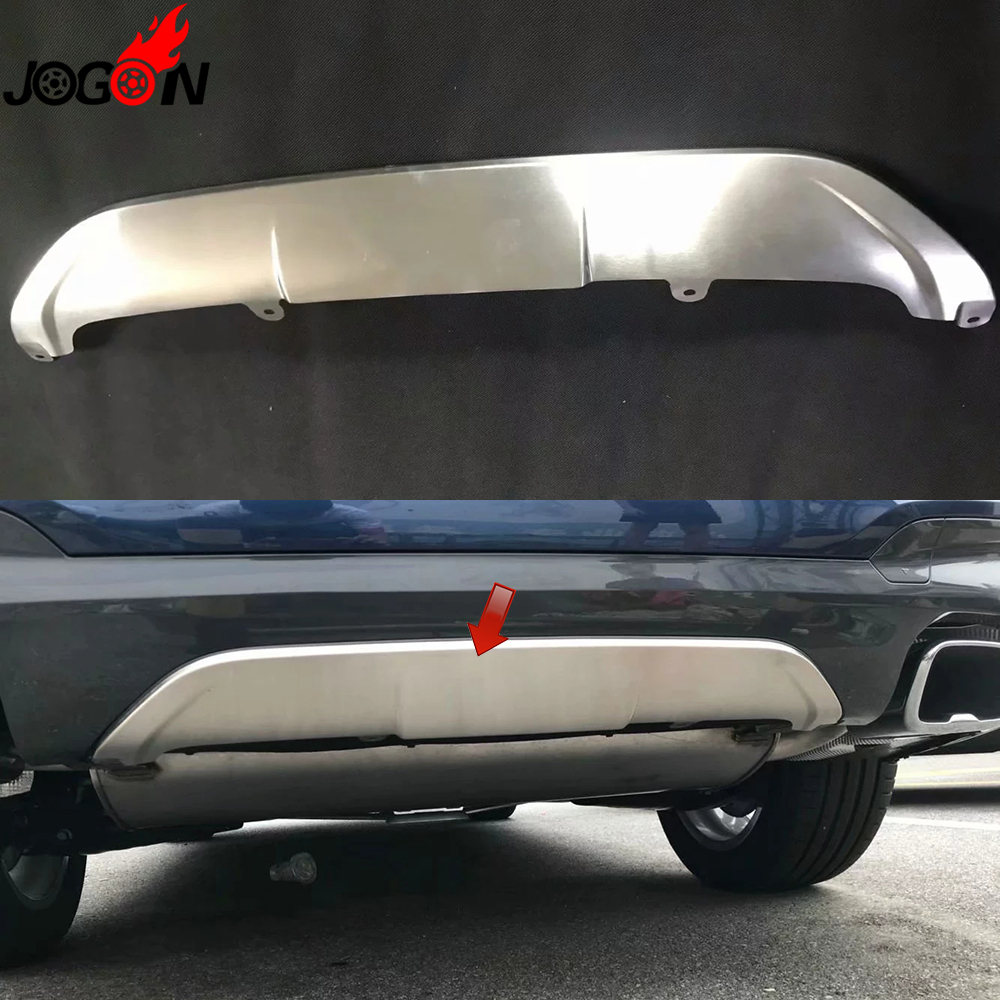 1pc For BMW X3 G01 2018 2019 Sport Car Styling Rear Back Bumper Guard Protector Cover