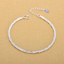 Free Shipping Top Quality Wholesale Silver Bracelets 925 Fashion Bracelets Fine Fashion Bracelet(China)