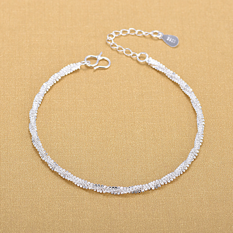 Free Shipping Top Quality Wholesale Silver Bracelets 925 Fashion Bracelets Fine Fashion Bracelet