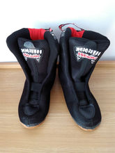 free shipping roller skates boots black color #35–#44