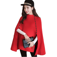 New Elegant Women Poncho Autumn Winter Women Pullover Knitted Sweaters High Quality Oversized Cashmere Sweater Pull