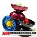 2016 venta Caliente niños lindos Juguetes giroscopio de aleación de Yo-yo de juguete de Los Niños Para Niños Juguetes Educativos de Regalo color al azar