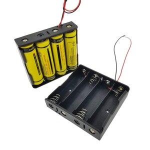 Image 2 - Rovtop 4/3/2/1x18650 pojemnik na baterie przypadku DIY 1 2 3 4 gniazdo sposób baterie zacisk mocujący pojemnik z drut ołowiany Pin Z2