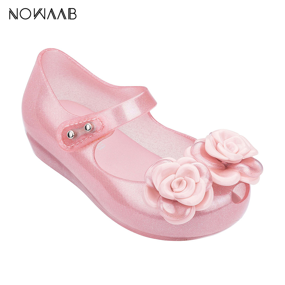 Mini Melissa Ultragirl Flower  2019 NEW Girl Jelly Sandals Summer Sandals Melissa Children Sandals Beach Shoes Toddler ShoesMini Melissa Ultragirl Flower  2019 NEW Girl Jelly Sandals Summer Sandals Melissa Children Sandals Beach Shoes Toddler Shoes