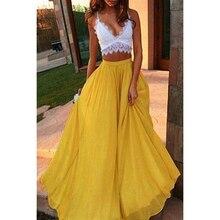 Bigsweety Мода Тюль женская летняя Эластичная Высокая талия длинная сетка плиссированная юбка-пачка Женская юбка с большим подолом