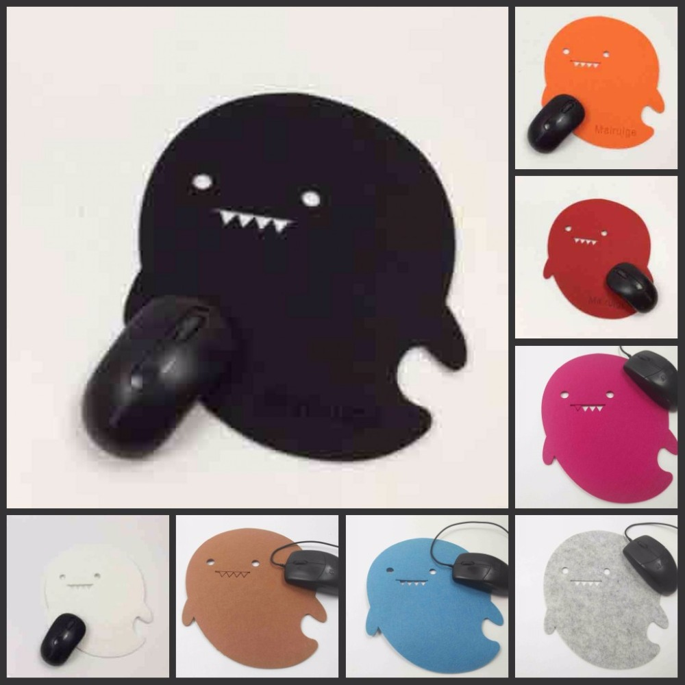 Yuzuoan дельфин самые низкие цены мультфильм мягкого фетра Мышь Pad для ноутбуков Тетрадь компьютер Мышь стол коврик украсить ваш стол