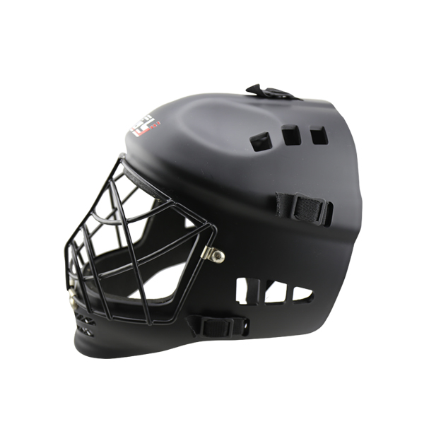 ABS EVA teenager foorball helmet field hockey helmet matte black color head protector best sale free shipping ce hecc csa approved new design ice hockey helmet hockey sport helmet with mask for adlut