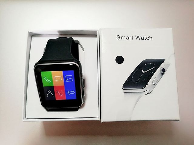 New Arrival X6 Smart Watch with Camera Touch Screen Support SIM TF Card Bluetooth Smartwatch 5