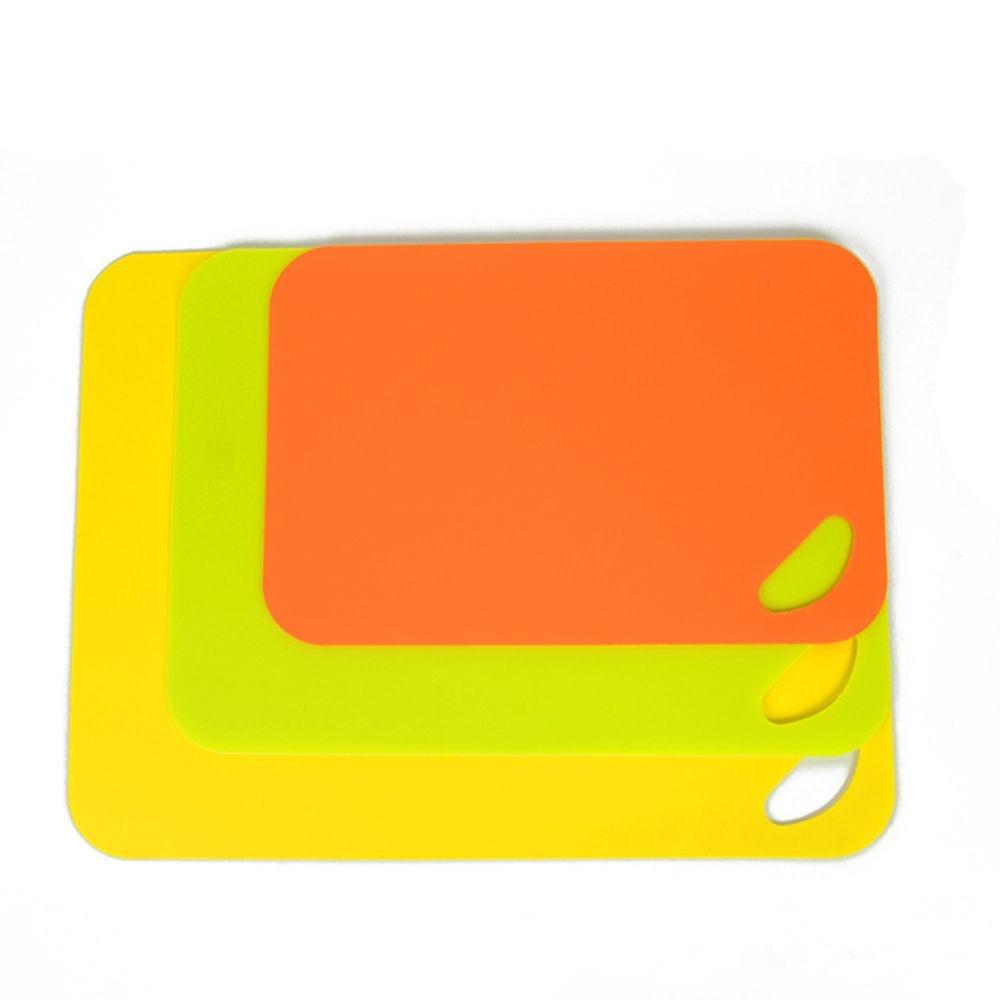 1Pcs Anti-Bacterial Coded Flexible Plastic Kitchen Chopping Cutting Board Mat Fruits Chopping Blocks Kitchen Tools HOT