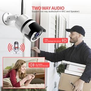 Image 5 - HD 1080P 5MP Bullet WiFi IP Camera ONVIF Wireless Outdoor Night Vision 20m CCTV Security Camera Two Way Audio Alarm P2P CamHi