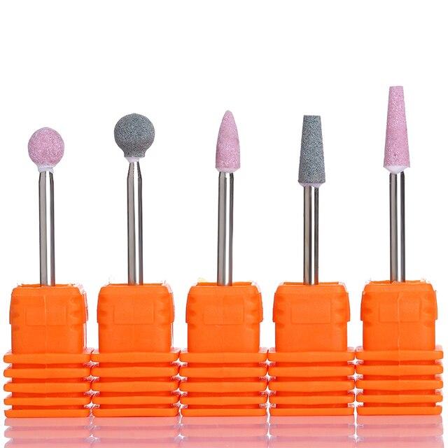 Electric Nail Drill File Quartz Drill Bit Cuticle Clean Manicure ...