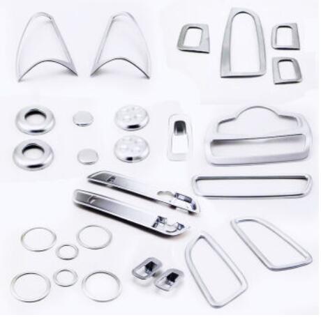 Chrome пластиковые аксессуары для интерьера весь комплект крышка планки для Mercedes Benz GLC класса X205 2015 2016