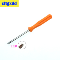 Cltgxdd 2 PCS Security Screwdriver For Xbox 360/ PS3/ PS4 Tamperproof Hole Repairing Opening Tool Screw Driver Torx T10