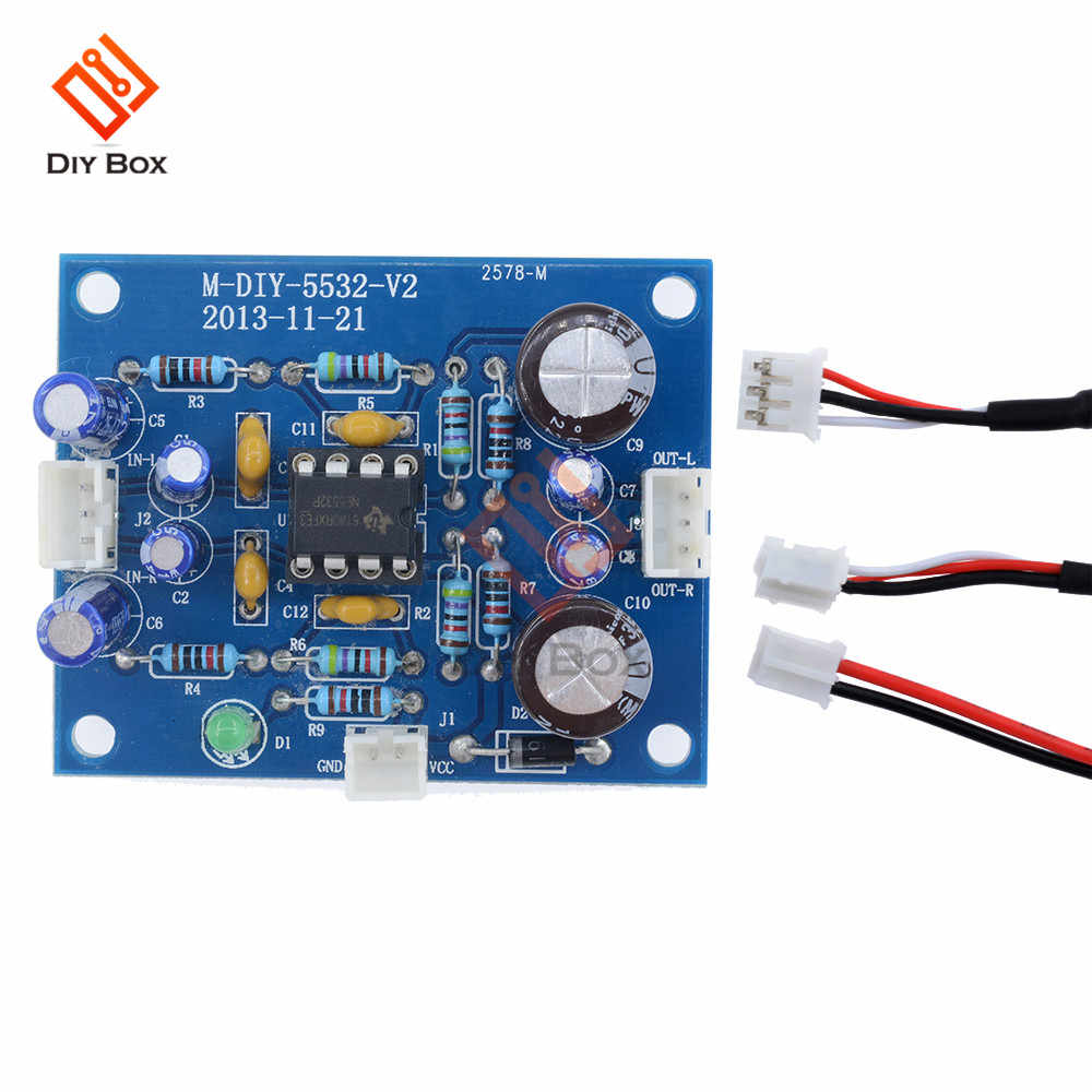 Detail Feedback Questions About Ne5532 Sound Volume Control Module Hifi Audio Amplifier Circuit Lm1875 Diy Amplifer Board Moudle Op Amp Preamplifier Signal Bluetooth In Stock