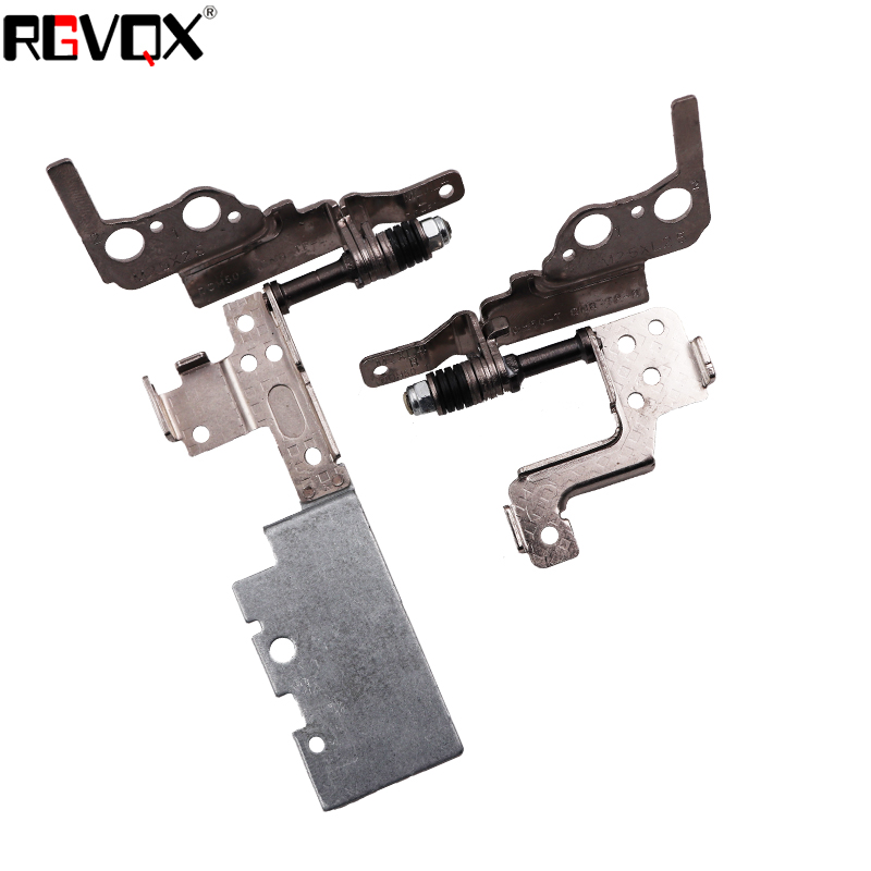 New Laptop Hinge For Dell 15-7000 7535 7537 with touch Screen Notebook LCD Left + right Hinges Replacement Repair