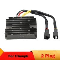 2 Plug Motorcycle Voltage Regulator Rectifier For TRIUMPH STREET TRIPLE 675 R675 DAYTONA 955 T595 955i DAYTONA 600 TIGER 955