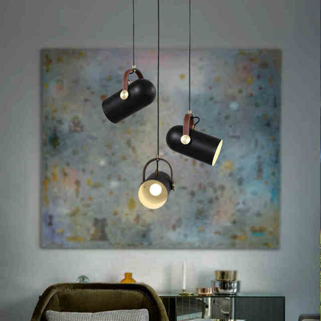 American country clothing store restaurant exhibition led modern american country clothing store restaurant exhibition led modern minimalist chandelier bullet lamp personality ceiling lamp aloadofball Image collections