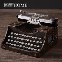 Vintage old typewriter home decoration crafts model props soft decoration