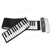 Professional Silicone Flexible 88 Keys Roll Up Piano Electric Piano Keyboard With MIDI Keyboard For Musical