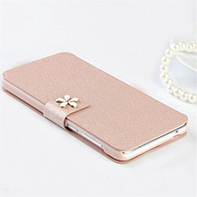 Fashion Case For Apple Iphone 5S 5C SE 5 6 6S Plus 4S 4 3 3G 3GS Cover Flip Original PU Leather Wallet Phone Bag With Card Slot