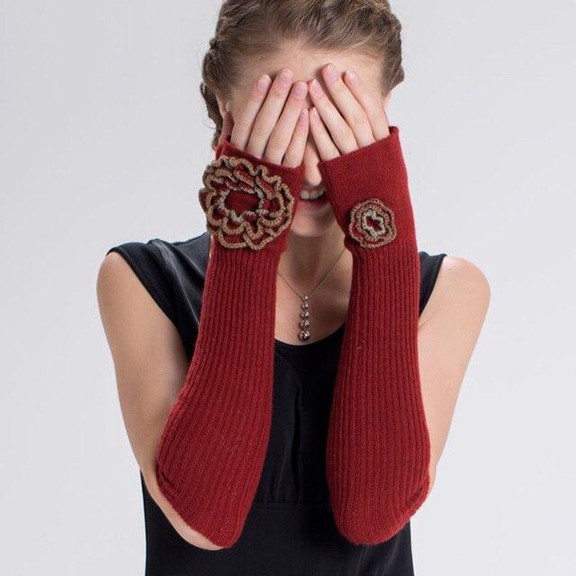 Long Winter Cashmere Wool...