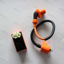 Performance 6 pins AC Racing CDI box Ignition Coil for GY6 50 150 Moped Scooter