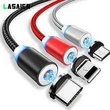 Magnetic USB Cable Fast Charging Type C Magnet Charger Data Charge Micro Mobile Phone Cord