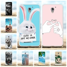 For ZTE Blade A510 Case Ultra-slim Soft TPU Silicone Cover Animal Patterned Shell Bumper