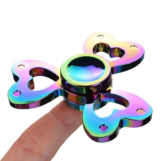 7190478d6 YARD Games toys 6 Series Hand Spinner Fidget Spinner rainbow/death Skull  /Leaf /Gear Metal Spinners Anti Anxiety for Spinners-in Fidget Spinner from  Toys ...