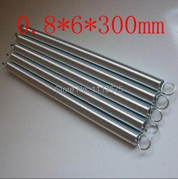 0.8X6mm metal 304 321 316 0.8*6*300mm ze stali nierdzewnej skręcanie rozszerzenie napięcie sprężyny źródła sprzętu